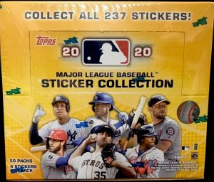 2020 Topps MLB Sticker Collection