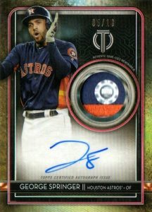 Auto Patches George Springer