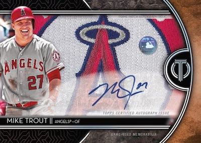 Auto Prime Patch Mike Trout MOCK UP