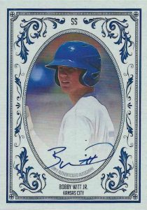 Auto Rookie Blue Ink Bobby Witt Jr