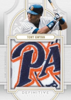 Definitive Patch Collection Tony Gwynn MOCK UP