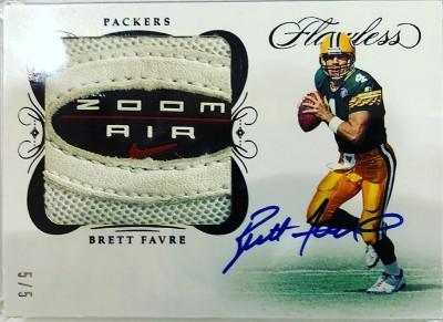 Flawless Cleats Auto Brett Favre