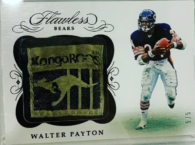 Flawless Cleats Walter Payton