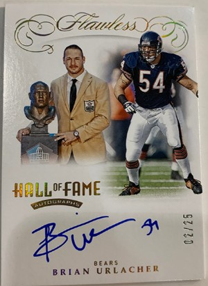 Hall of Fame Auto Brian Urlacher