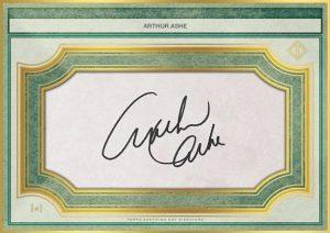 Oversized Cut Signature Arthur Ashe MOCK UP
