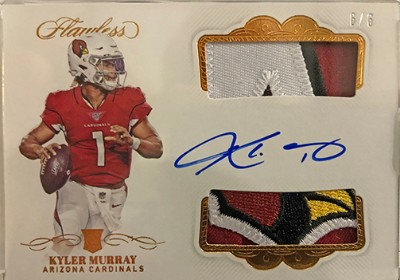 Rookie Dual Patch Auto Kyler Murray