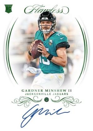 Rookie Gems Signature Gardner Minshew II MOCK UP