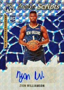 Rookie Scripts Auto Zion Williamson