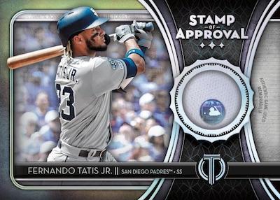 Stamp of Approval Relics Fernando Tatis Jr MOCK UP