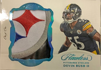 Rookie Patches Devin Bush II