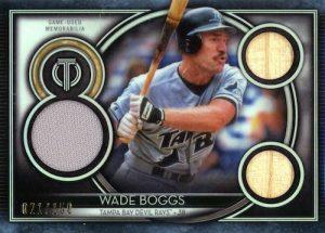 Tribute Triple Relics Wade Boggs