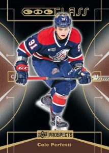 1999-00 UD CHL Class Retro Cole Perfetti MOCK UP