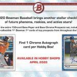 2020 Bowman Baseball