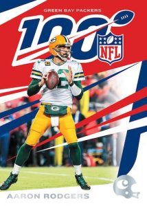 Base NFL 100 Aaron Rodgers MOCK UP