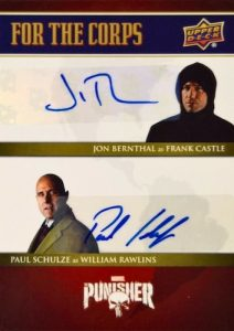 For the Corps Dual Auto Jon Bernthal, Paul Schulze