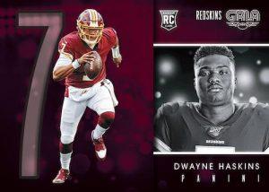 Gala Rookies Dwayne Haskins MOCK UP