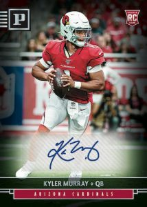 Panini Signatures Kyler Murray MOCK UP