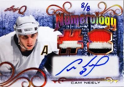 Q Numerology Auto Relics Cam Neely