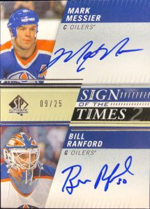 Sign of the Times 2 Mark Messier, Bill Ranford