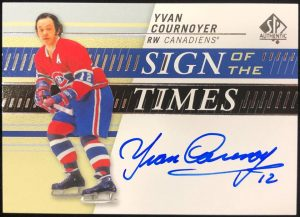 Sign of the Times Yvan Cournoyer