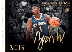 Spotlight Signatures Horizontal Zion Williamson MOCK UP