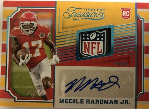 Timeless Treasures Jersey Auto Mecole Hardman Jr