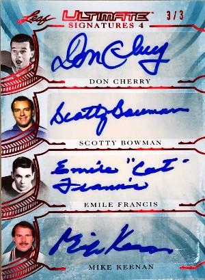 Ultimate Signatures 3 Mario Lemieux, Brett Hull, Eric Lindros