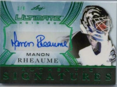 Ultimate Signatures Manon Rheaume