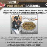2020 Topps Pro Debut Baseball