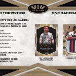 2020 Topps Tier One Baseball