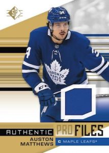 Authentic Profiles Jersey Auston Matthews