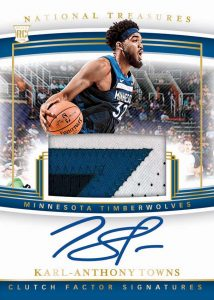 Clutch Factor Signature Karl-Anthony Towns