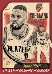Cross-Hatching Handles Damian Lillard MOCK UP