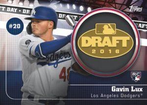 Draft Day Medallions Gavin Lux
