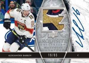 Exquisite Collection Material Signatures Aleksander Barkov MOCK UP