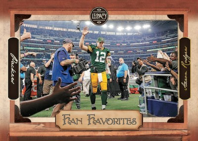 Fan Favorites Aaron Rodgers