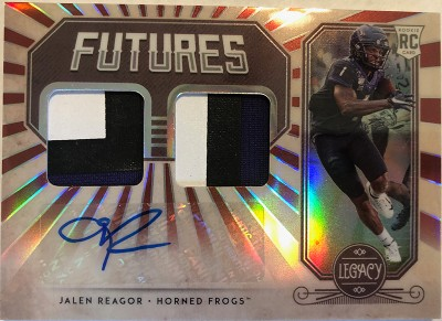 Futures Dual Patch Auto Jalen Reagor