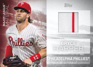 Major League Materials Bryce Harper