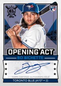 Opening Act Autographs Bo Bichette
