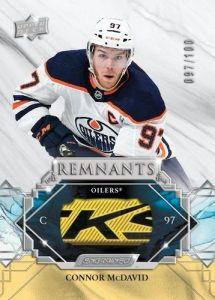 Remnants Stick Relics Connor McDavid MOCK UP