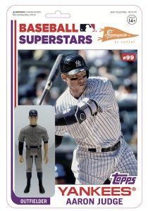 Super7 MLB Action Figures Cardback Variation Aaron Judge