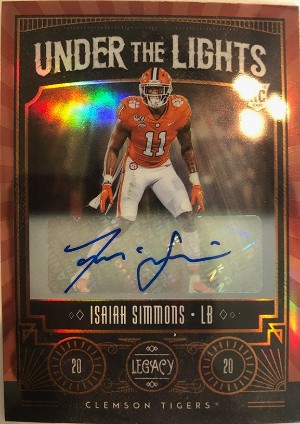 Under the Lights Auto Bronze Isiah Simmons