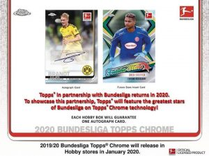 2019-20 Topps Chrome Bundesliga