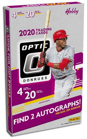 2020 Donruss Optic Baseball
