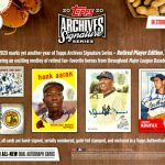 2020 Topps Archive Signature Series Retired Player