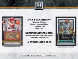 2020 Topps Museum Collection Baseball