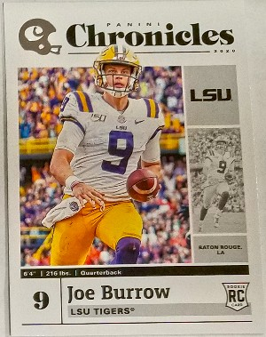 Base Chronicles Draft Picks Joe Burrow