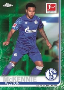 Base Green Refractor Weston McKennie