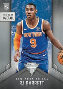 Base Titanium Draft Position RJ Barrett MOCK UP