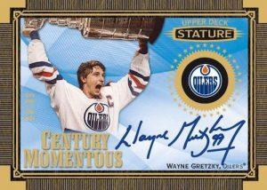 Century Momentous Auto Wayne Gretzky MOCK UP
